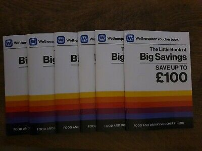 Wetherspoon  books x6 + gift card for one lucky person