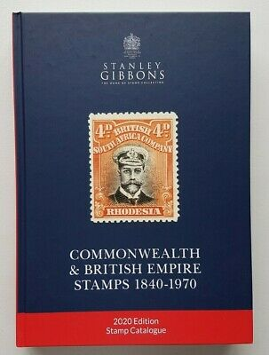 2020 Stanley Gibbons Commonwealth & British Empire Part 1 Stamp Catalogue.