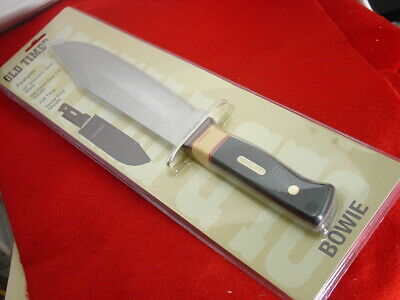 """Schrade Old Timer Big 15-3/8"""" Fixed Blade Full Tang Bowie knife SEALED MINT!"""