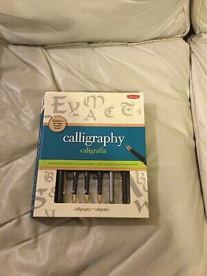Calligraphy Lettering Kit For Beginners/Feather Pen Set (New)