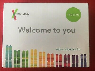 23 and Me Welcome to You Ancestry Saliva Collection Kit NIB - FAST SHIPPING