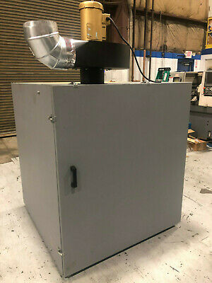 Vacuum Box w/ Baldor 3HP Motor and DF-102 Maxdrive Extractor M3DT942Q060MC