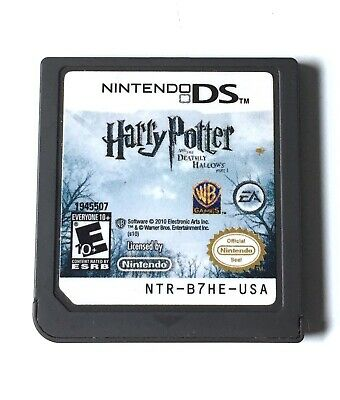 Harry Potter and the Deathly Hallows: Part 1 (Nintendo DS, 2010) TESTED
