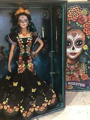 Barbie Dia De Los Muertos Doll IN STOCK  Mexican Doll Ready To Ship NRFB IN HAND