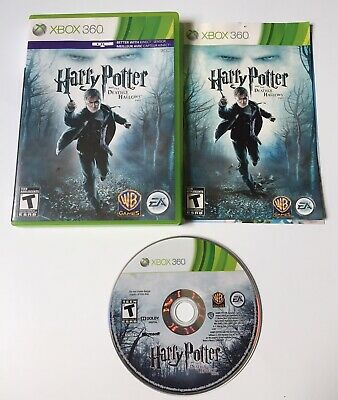 Harry Potter and the Deathly Hallows: Part 1 Microsoft Xbox 360 COMPLETE TESTED