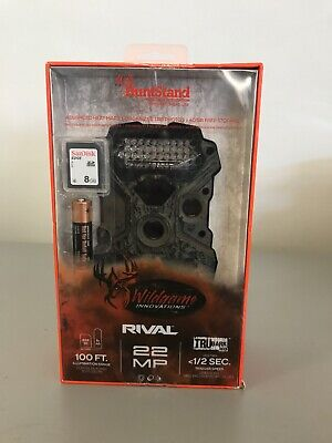 NEW - Wildgame Innovations Rival 22 Trubark Low Glow Deer Trail Camera