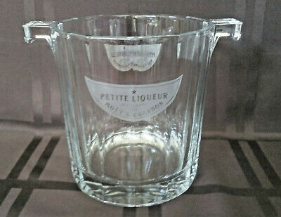 Vtg Moet & Chandon Petite Liqueur Champagne Chiller/Ice Bucket  Made in Italy