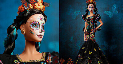 BARBIE Dia De Los Muertos - Day of The Dead Mexican Doll (PREORDER)