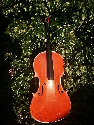 SPARES OR REPAIRS skylark Chinese CELLO for violin viola repairs luthier person