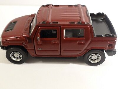 MAISTO Hummer H2 SUT Concept Car In Red Color Scale 1/46