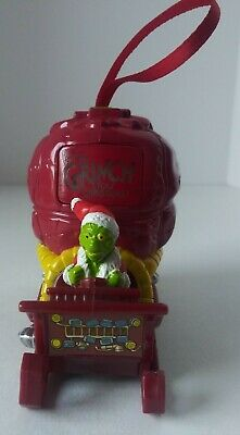 How the Grinch stole Christmas Wendy's Fast Food Toy Ornament