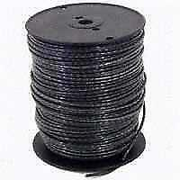 Southwire 3BK-STRX500 Stranded Single Building Wire, 3 AWG, 500 ft, 40 mil THHN