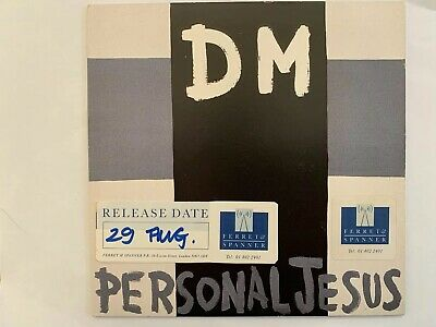 "Depeche Mode Personal Jesus UK 7"" Promo With Censored Sleeve"