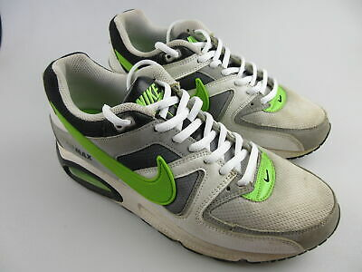 Boy's NIKE 'Air Max Command' Sz 7Y Shoes White Green ExCon | 3+ Extra 10% Off
