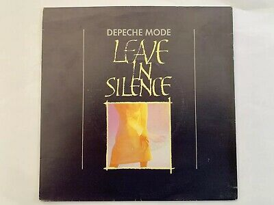 "Depeche Mode Leave In Silence UK 7"" With Ferret Plugging Sticker"