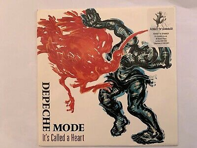 "Depeche Mode Its Called A Heart UK 7"" With Ferret & Spanner Sticker"