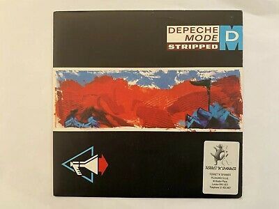 "Depeche Mode Stripped UK 7"" With Ferret & Spanner Sticker"