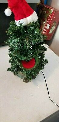"1996 Gemmy Douglas Fir The Talking Christmas Tree • Singing Tree • 16"" Edition"