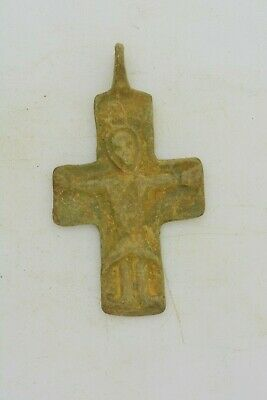 Byzantine bronze cross Jesus Christ 8th century AD