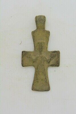 Byzantine bronze cross Jesus Christ 6th century AD