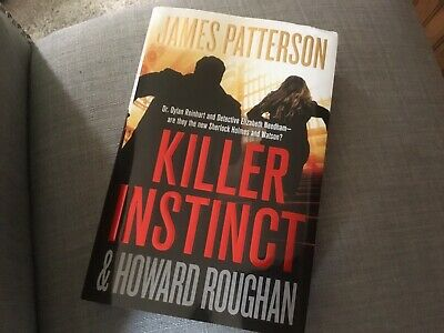 KILLER INSTINCT New Book By JAMES PATTERSON Hardcover