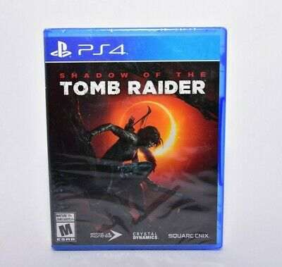 Shadow of the Tomb Raider (Playstation 4, 2018) NEW Factory Sealed