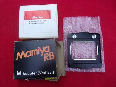 Mamiya M Adapter Vertical For Rb 67 Nos