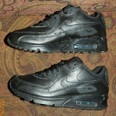 NIKE AIR MAX 90 307793 046 New Kids Youth GS Black White