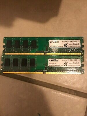 Crucial 2x4GB RAM DIMM PC4-2133P 17000 Desktop  2133MHz DDR4 For computer Memory