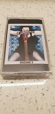 Madonna Madame X MADE IN UK Cassette Black Rare