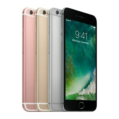 New in Box iPhone 6S Plus Silver Gray 64GB 128GB Unlocked 1 Year Apple Warranty