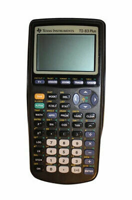 Texas Instruments TI-83 Plus Graphing Calculator (no cover)