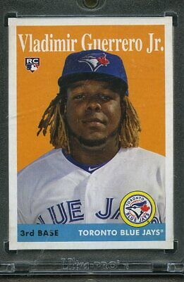 2019 Topps Archives Baseball 1/1 Blank Back. Vladimir Guerrero Jr BLUE JAYS