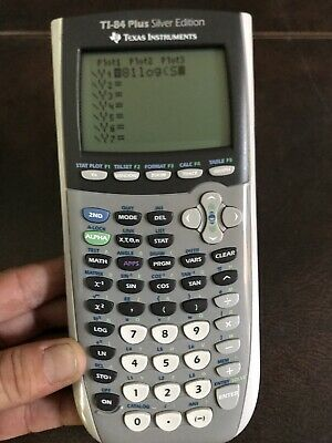 Texas Instruments Ti-84 Plus Silver Edition Calculator