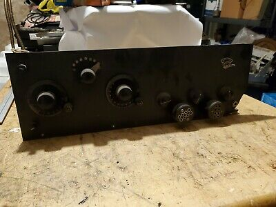 home made 1920s radio for parts