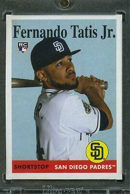 2019 Topps Archives Baseball 1/1 Blank Back. Fernando Tatis Jr PADRES
