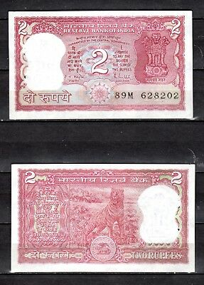 INDIA 1 RUPEE 1966-1980 P 77 L UNC 1 RS NOTE COLLECTABLE UNC NOTE