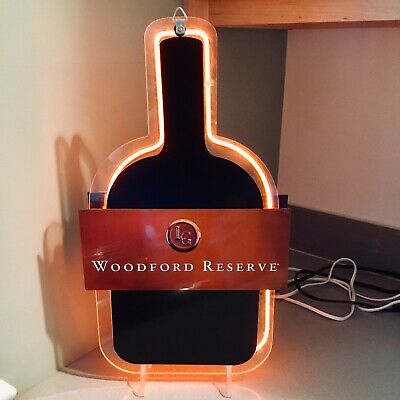 EXTREMELY RARE!! Woodford Reserve Kentucky Derby Bourbon Vintage Neon Sign