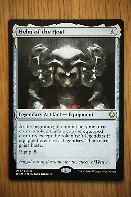 Helm of the Host / Dominaria *Pack Fresh Unplayed NM+* (Magic the Gathering MTG)