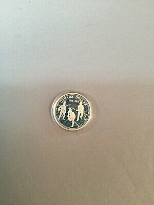 Canada 2012 War of 1812 Proof Gem UNC Silver Dollar!!
