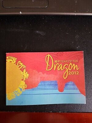 Christmas Island / Australia,  Year of the Dragon 2012 - 24 x stamp Booklet SP5