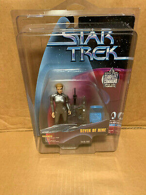 Seven of Nine Star Trek Starfleet Command Playmates 1999 Target Exclusive