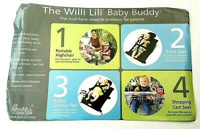 Portable Baby Shopping Trolley Cart High Chair Floor Seat Nappy Change Mat Pad