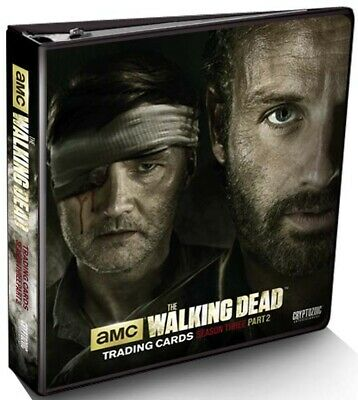 THE WALKING DEAD Season 3 Part 2 Trading Cards Collector Album (Cryptozoic) #NEW