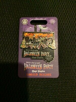 Disney 2019 MNSSHP Mickey's Not So Scary Halloween Party Event Logo Pin