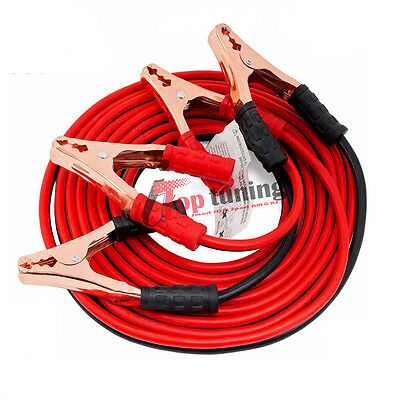 500amp 2.2m 4 Gauge Heavy Duty Power Booster Cable Emergency Car Battery Jumper