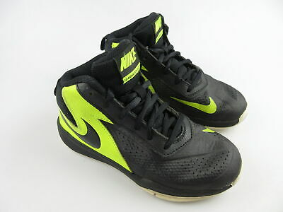Boy's NIKE 'Team Hustle D7' Sz 13C US BBall Shoes Black VGCon | 3+ Extra 10% Off
