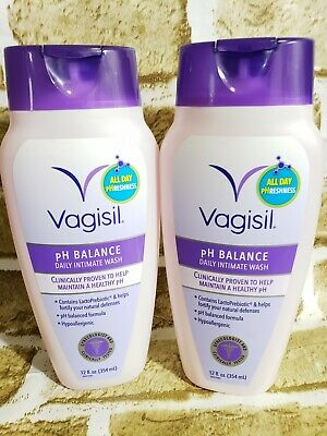 Vagisil Feminine Wash pH Balanced Light & Fresh 12 oz Pack of 2
