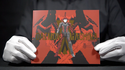 Official Daemon X Machina Merchandise Steelbook Case and More - *The Masked Man*