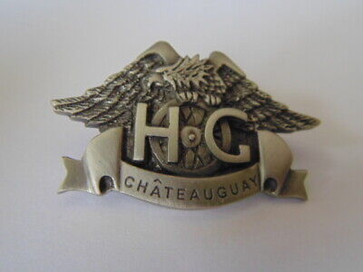 Harley-Davidson Pins Badge Collector Hd Hog Chateauguay